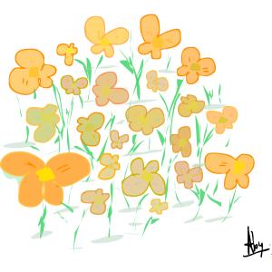 bloemenwoensdag 24-5-15